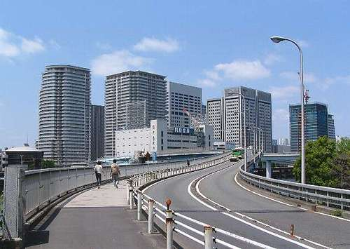 京浜運河@八潮橋 (060504)